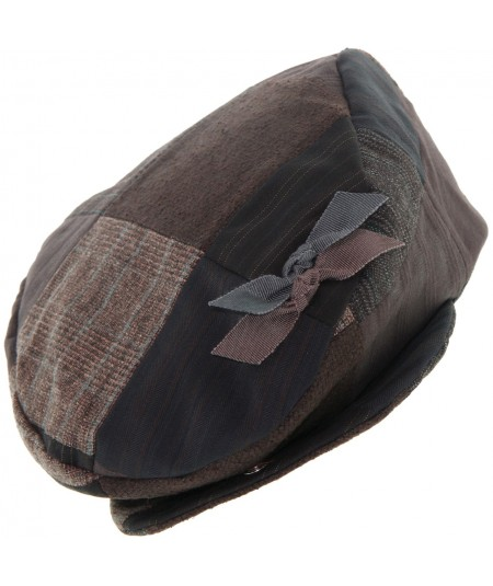 recycled-tweed-patches-golfer-cap