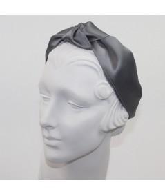 Elephant Satin Turban Headband