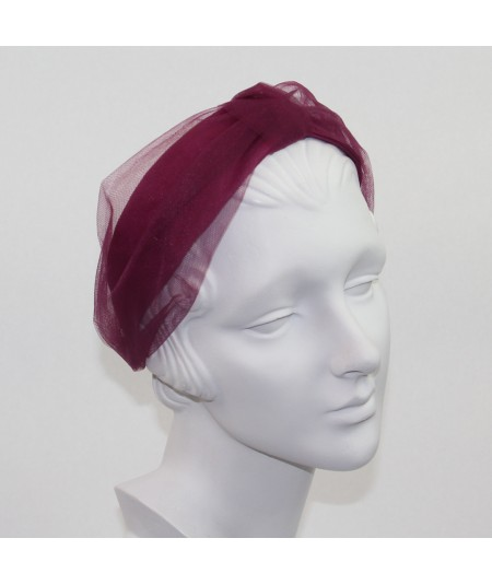 Wine Headband Turban