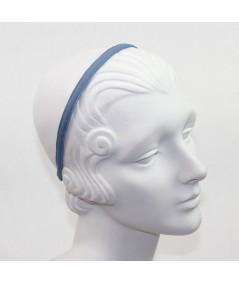 Country Blue Grosgrain Basic Skinny Headband