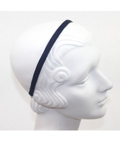 Navy Grosgrain Basic Skinny Headband