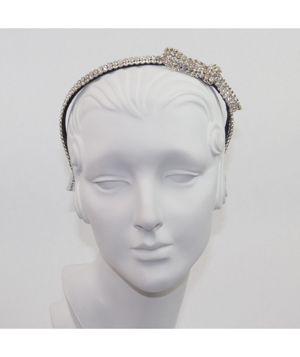 Rhinestone Side Loop Headband