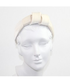 Ivory Velvet Hollywood Headband