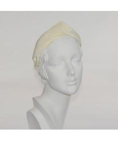 Ivory Bengaline Turbanista Headband