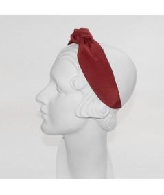 Cardinal Bengaline Blair Center Turban Headband with BE26 Pale Blue