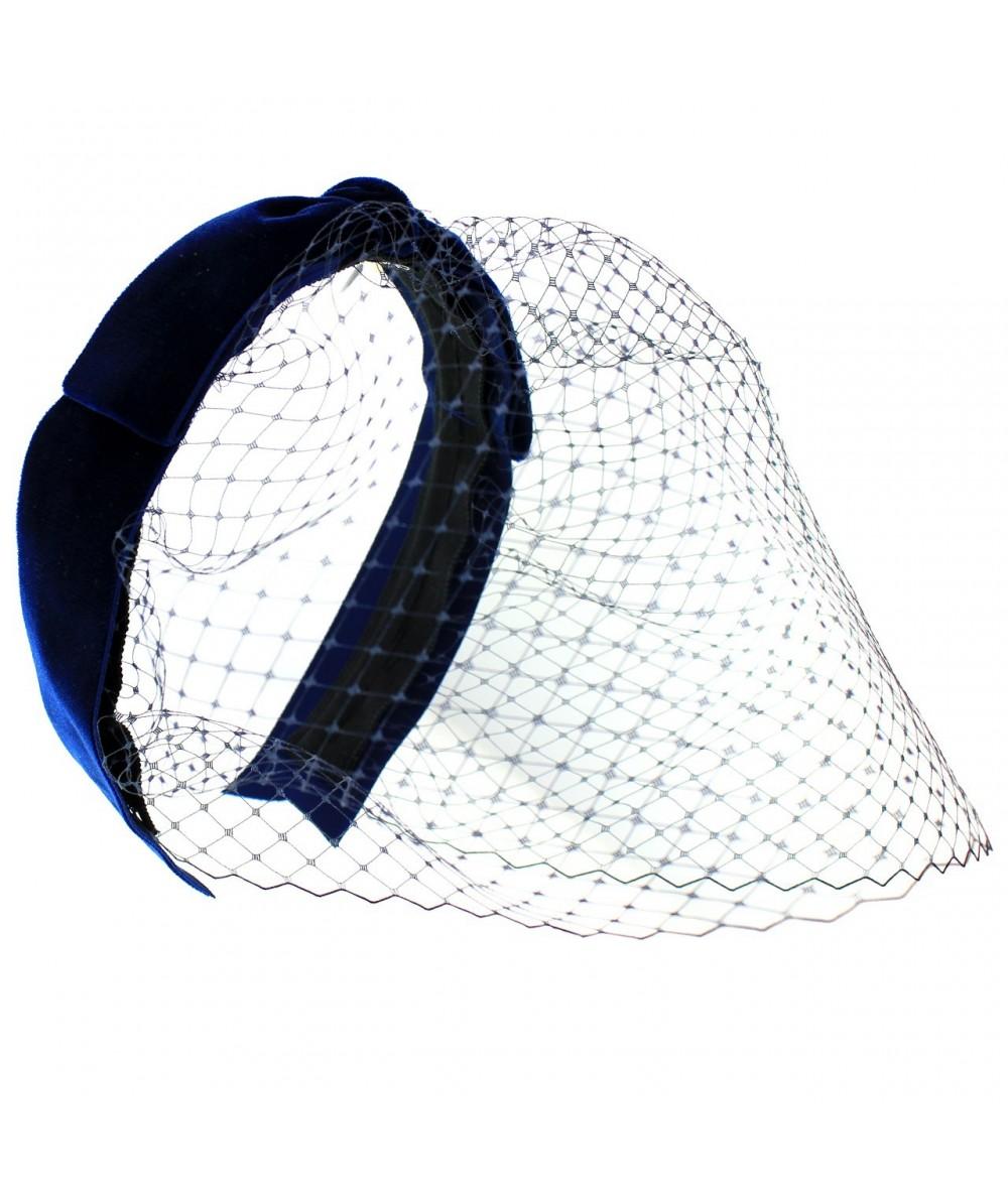 velvet-center-bow-birdcage-fascinator