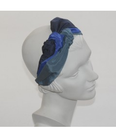 Blues Bengaline Sophia Turban Headpiece