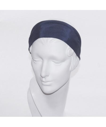 Navy Bengaline Extra Wide Headband