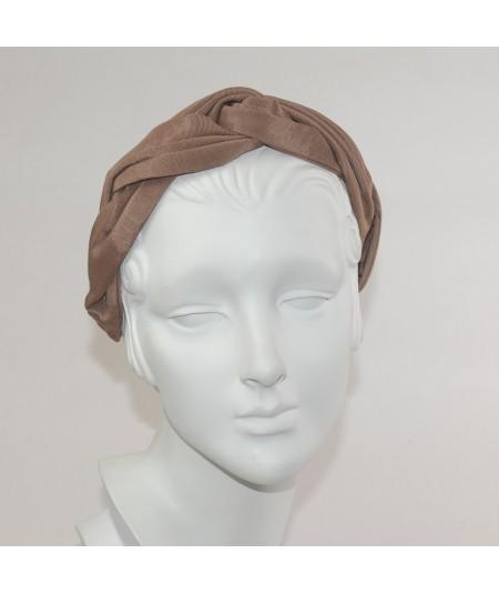Pecan Bengalinne Twist Headband