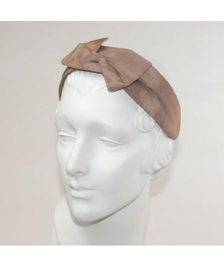 Pecan Bengaline Swivel Headband