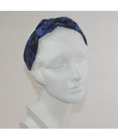 Floral Print Side Turban Headband