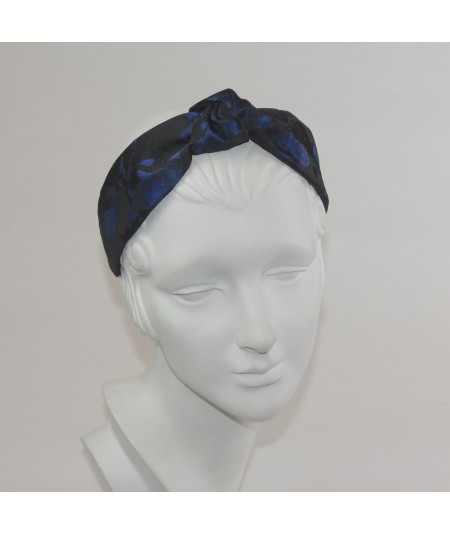 Floral Print Center Turban Headband