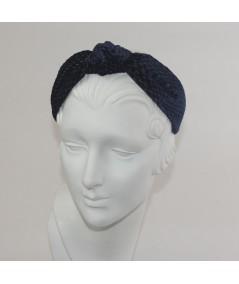 Velvet Print Center Turban
