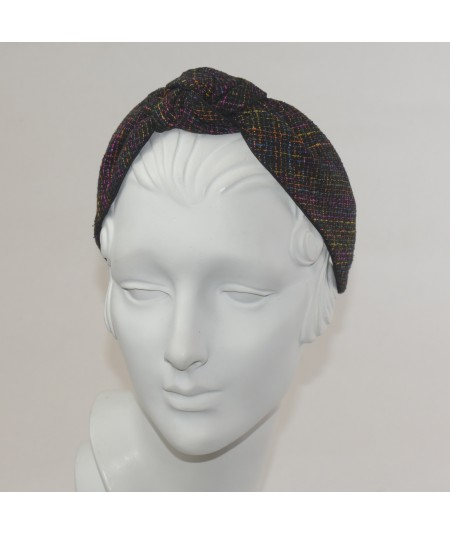 West Side Silk Center Turban Headband