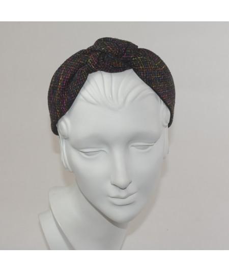 Time Square Silk Center Turban Headband