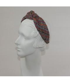 East Side Silk Center Turban Headband