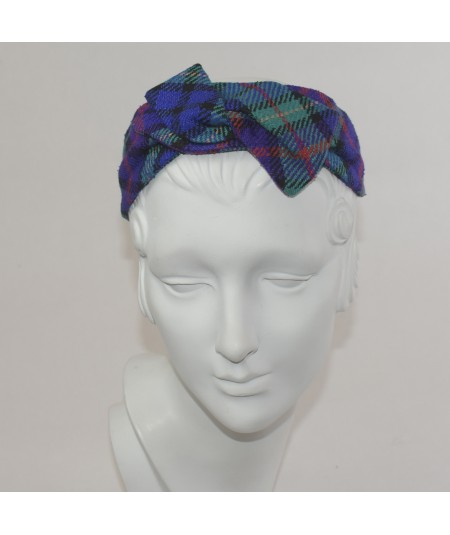 Mott Street Silk Print Swivel Headband