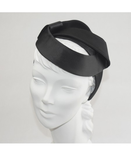 Black Satin Space Headpiece