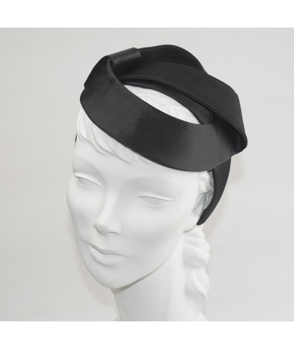Black Satin Space Headpiece