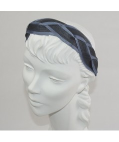 Pigeon with Black Horse Hair Braided Headband