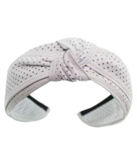 dotted-leather-center-knot-turban-headband