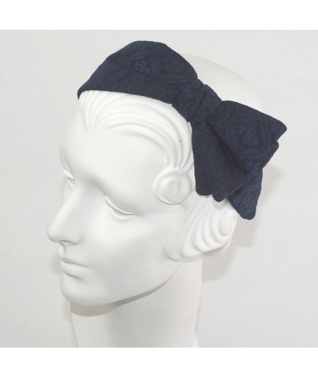 Printed Fabric Side Detail Headband