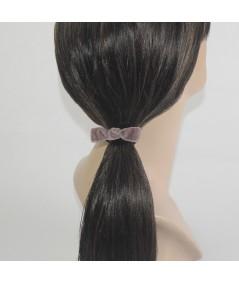 Velvet Small Knot Pony
