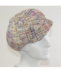 Madison Silk Tweed Cap