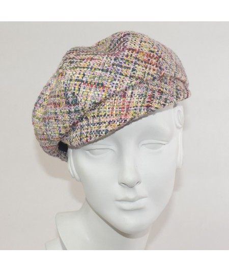Madison Silk Tweed Cap