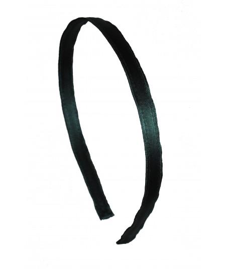 Billiard Satin Narrow Headband