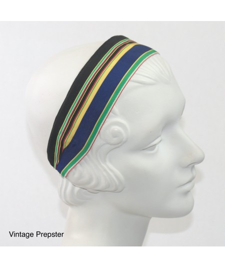 Jennifer Ouellette Retro Stripe Headband - Vintage Prepster