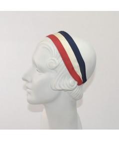 Jennifer Ouellette Retro Stripe Headband - Red, White & Blue