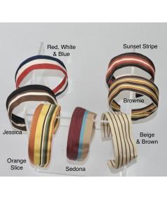 Jennifer Ouellette Retro Stripe Headband