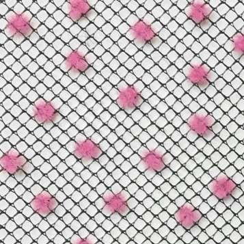 Black with Pink Dot