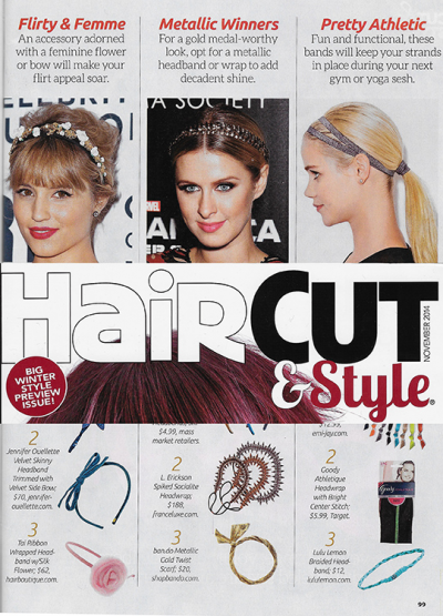Hair Cut & Style November 2014